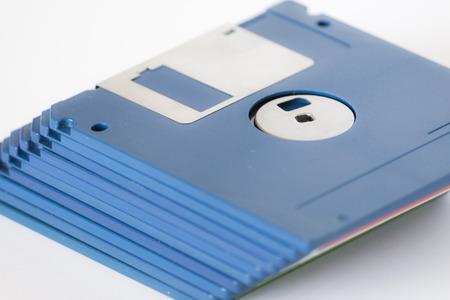 Micro floppy disks Stock Photo