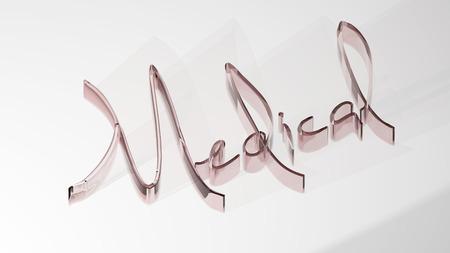 Medical - 3D Rendering Stock Photo