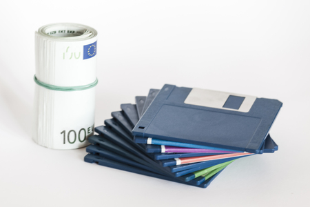 Floppy disks and money