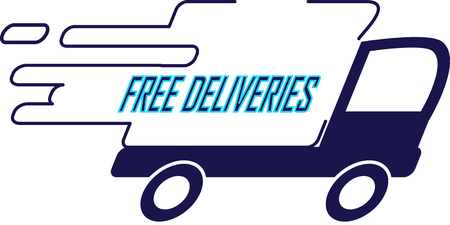 forwarding agency: Truck - Free deliveries