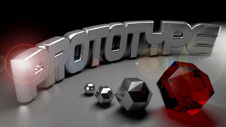 Prototype concept image - 3D rendering