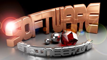 oriented: Software Engineering concept - 3D rendering