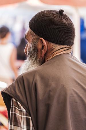 Old turkish muslim man