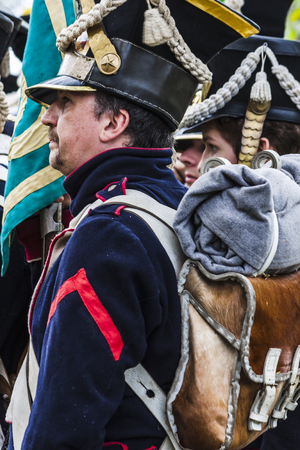 French napoleonic soldier in the platoon Editorial