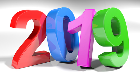 Colorful 2019 - 3D rendering