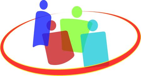 An icon for teamwork