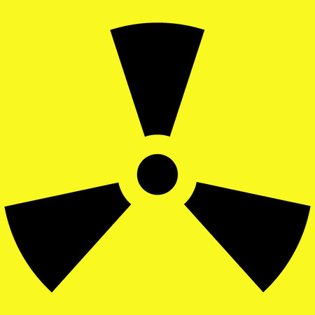 The Symbol Of Radioactivity In A Vector Icon Vector Royalty Free