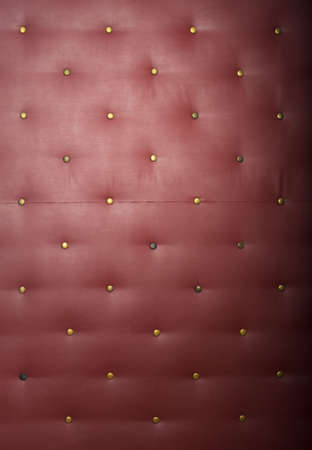 upholstered: padding sofa cushion red vintage texture wall paint
