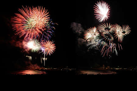 Fireworks on the beach Stock Photo - 836166