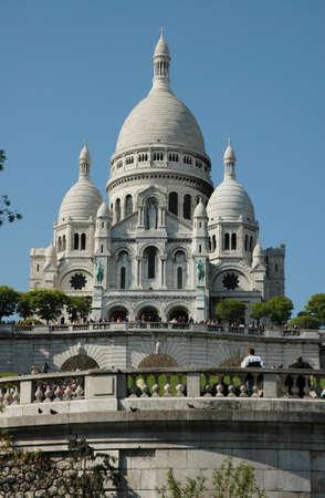 sacre: Basilica Sacre Coeur on Montmatre - Paris