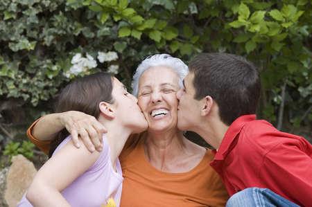 Grandmother with grandchildren Stock Photo - 915898