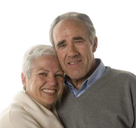 Lovely mature couple still in love Stock Photo - 2626830