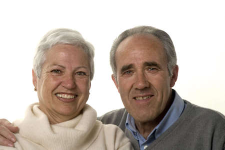 Lovely mature couple still in love Stock Photo - 2626834