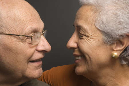 Close-up of a lovely senior couple Stock Photo - 2886640