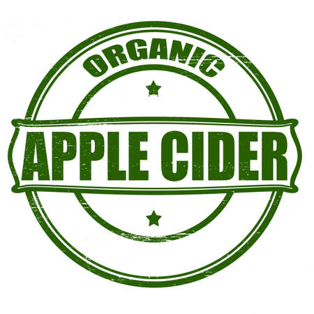 cider: Stamp with text apple cider inside,vector illustration Illustration