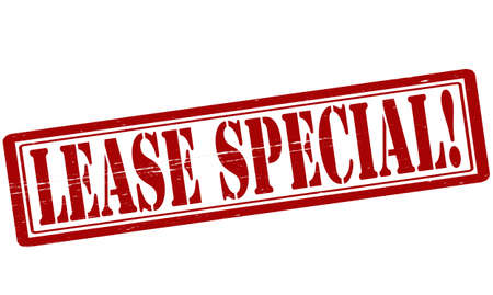 lease: Stamp with text lease special inside, vector illustration Illustration