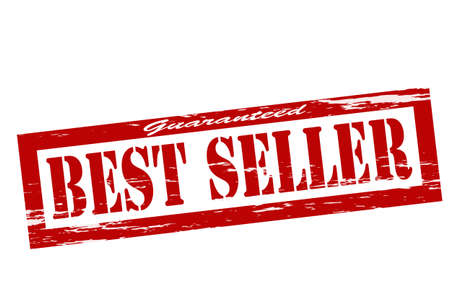 surety: Timbro con il best seller testo all'interno Vettoriali
