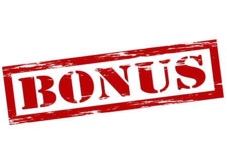 bounty: Sello con la palabra dentro de bonificación