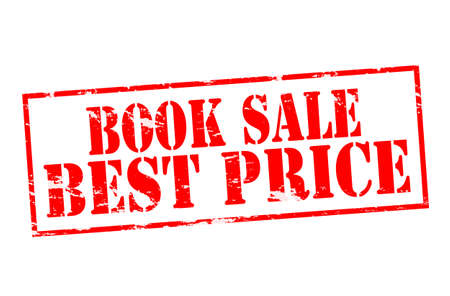 syndicate: Rubber stamp with text book sale best price inside