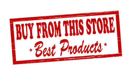 best products: Rubber stamp with text buy from this store best products inside