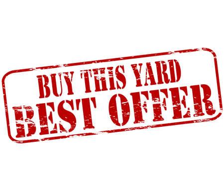 uprzejmości: Pieczątka z tekstem kupić ten dziedziniec wewnątrz
