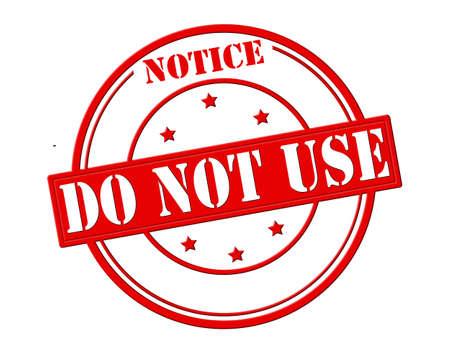スタンプ テキスト通知をしないで内部を使用して、ベクトル イラスト  イラスト・ベクター素材