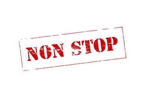 cease: Timbro con il testo non si ferma dentro, illustrazione vettoriale