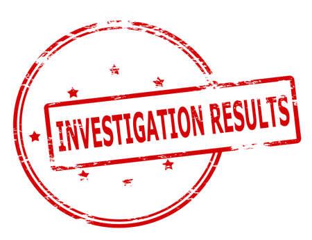 investigacion: Sello de goma con la investigaci�n de texto se traduce en el interior, ilustraci�n vectorial Vectores