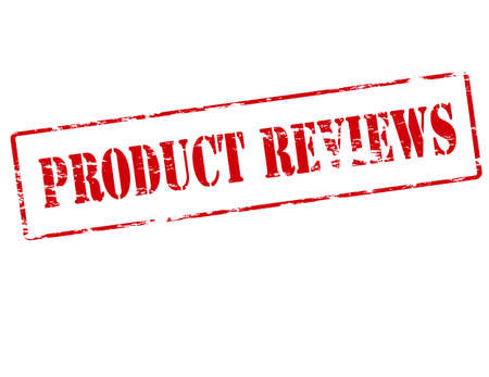 revision: Rubber stamp with text product review inside illustration Illustration
