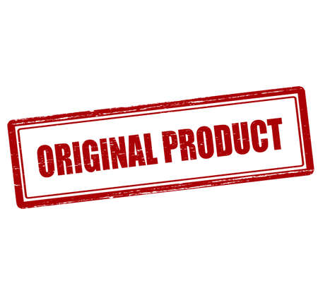 peculiar: Rubber stamp with text original product inside, vector illustration`