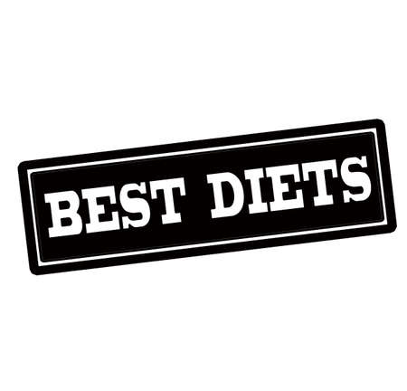 alimentation: Rubber stamp with text best diets inside, vector illustration