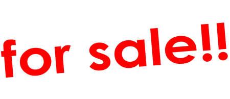 Rubber stamp with text for sale value inside, vector illustration Illustration