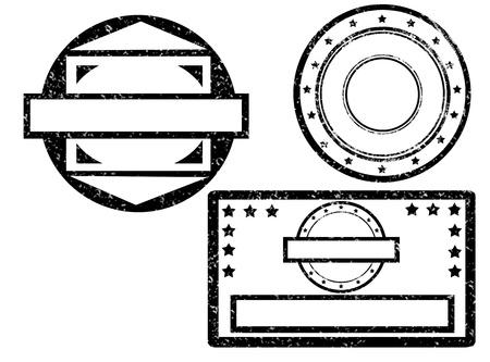 Set of grunge rubber stamp,vector illustration Vector