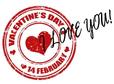true love: Valentine Illustration