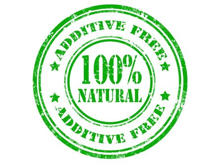 additive: Grunge rubber stamp with text additive free inside,vector illustration