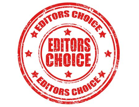 editors: Grunge rubber stamp with text Editor choice,vector illustration