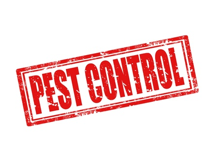pest control: Grunge rubber stamp with text Pest control Illustration