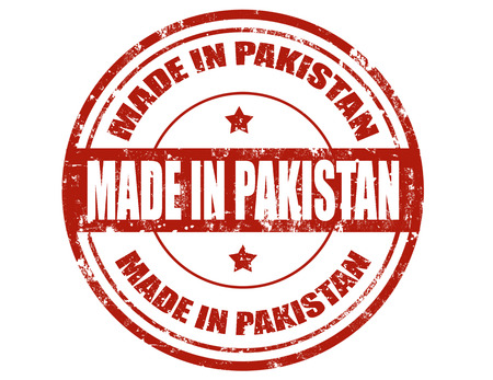 Grunge rubber stamp with text Made in Pakistan,vector illustration Stock Vector - 22205181