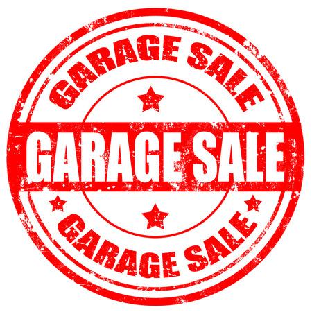 Grunge rubber stamp with text Garage Sale,vector illustration