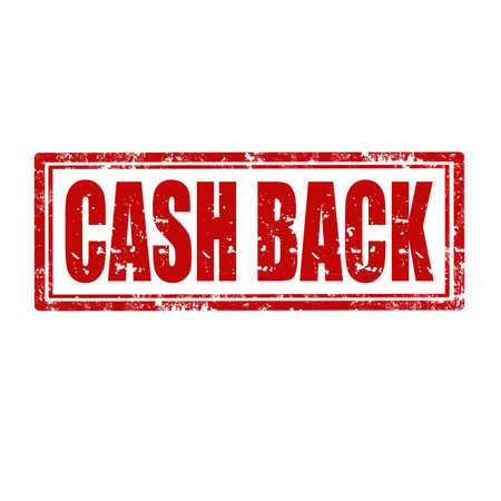Grunge rubber stamp with text Cash Back,vector illustration Vector