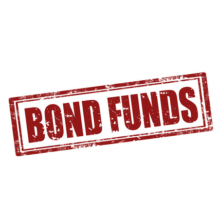 funds: Grunge rubber stamp with text Bond Funds