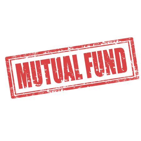 mutual fund: Grunge rubber stamp with text Mutual Fund,vector illustration