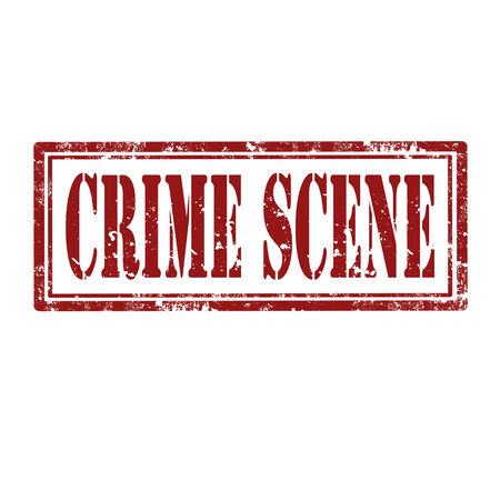 Grunge rubber stamp with text Crime Scene,vector illustration Stock Vector - 24752959
