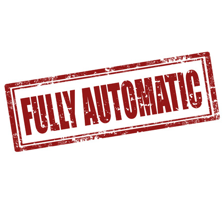 fully automatic: Grunge rubber stamp with text Fully Automatic,vector illustration Illustration