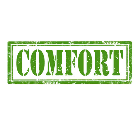 tr�sten: Grunge Stempel mit Text Comfort, Vektor-Illustration