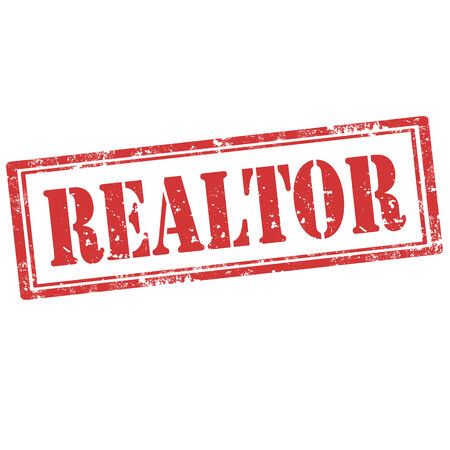 realtor: Grunge rubber stamp with word Realtor,vector illustration