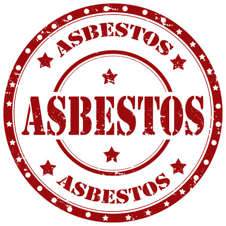 asbestos: Grunge rubber stamp with word Asbestos,vector illustration