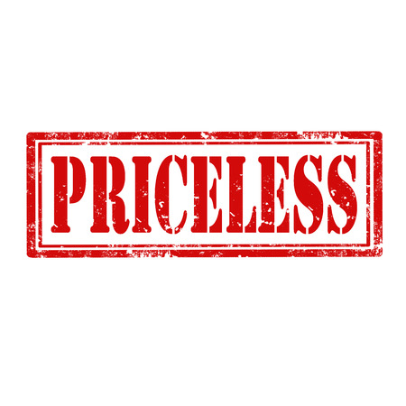 priceless: Grunge rubber stamp with word Priceless,vector illustration