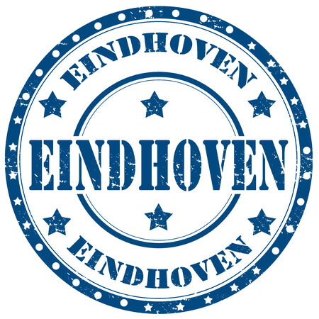 eindhoven: Grunge rubber stamp with text Eindhoven,vector illustration