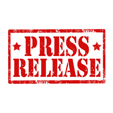 press release: Grunge rubber stamp with text Press Release,vector illustration